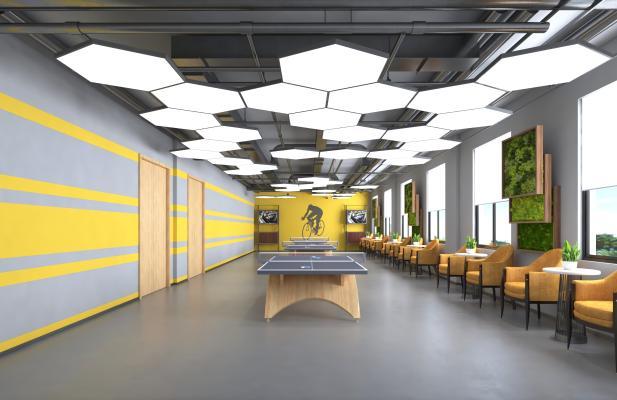 现代乒乓球馆