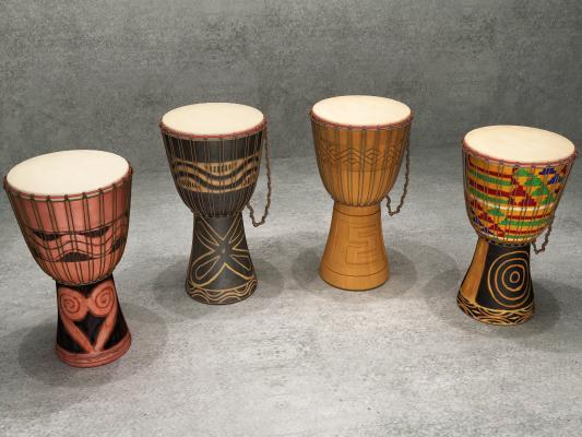 东南亚非洲鼓饰品