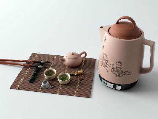 新中式茶壶 茶具 电水壶