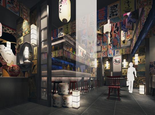 日本料理餐厅居酒屋