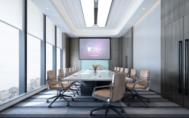 现代会议室 办公会议室