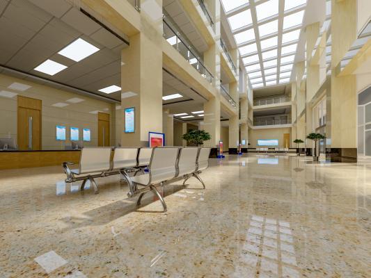 现代医院大堂