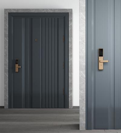 现代防盗门 入户门 单开门