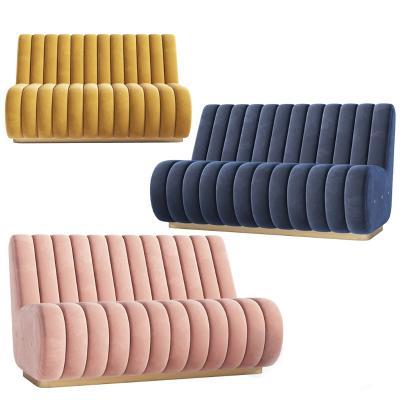 现代卡座沙发