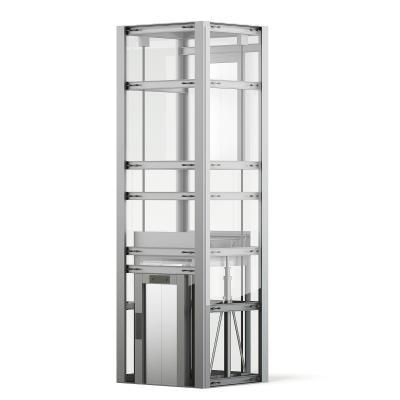 現代電梯 觀光梯