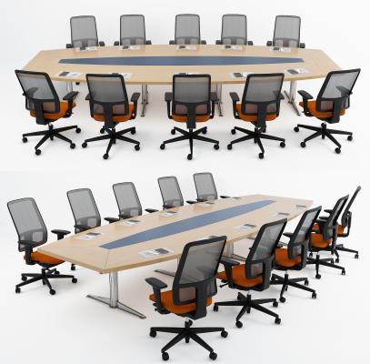 现代会议桌 会议椅 办公桌