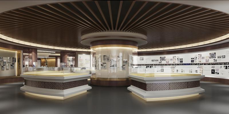 新中式展厅 博物馆 展馆文化馆