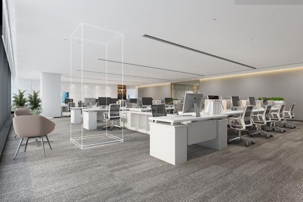 现代办公会议室