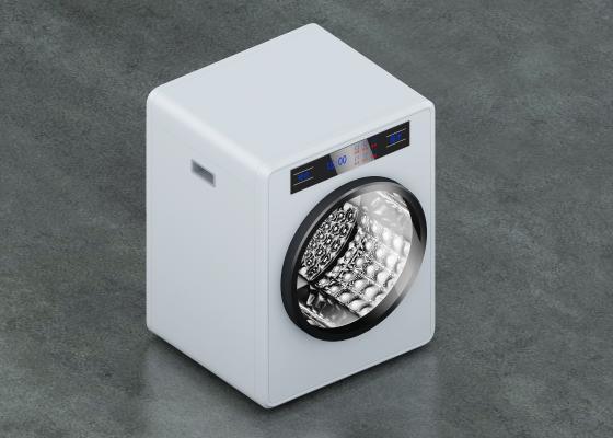 现代智能洗衣机 家用电器
