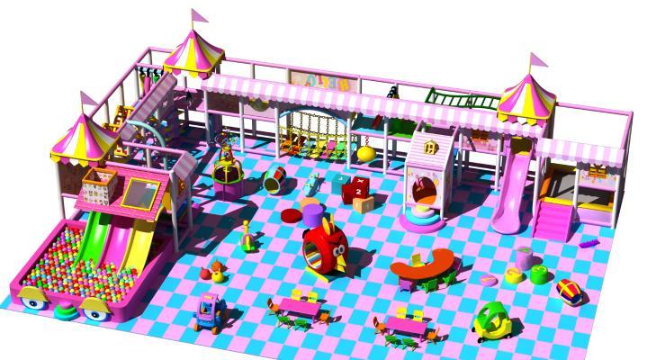 現代兒童游樂園 室內游樂場