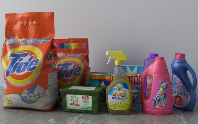现代清洁用品 洗衣液清洁剂