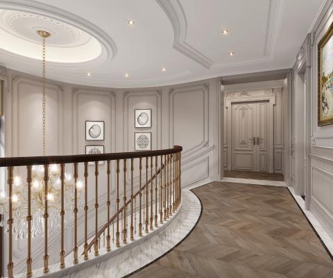 法式楼梯间