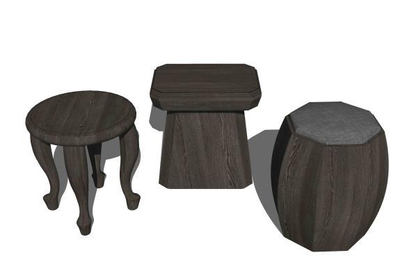 新中式凳子