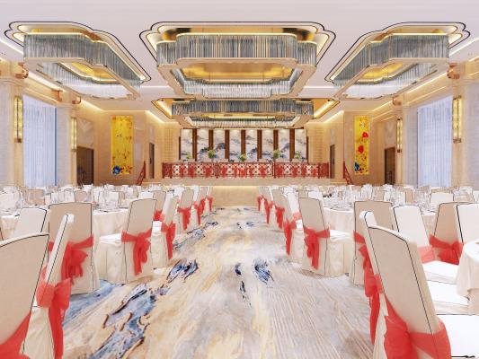 现代酒店宴会厅