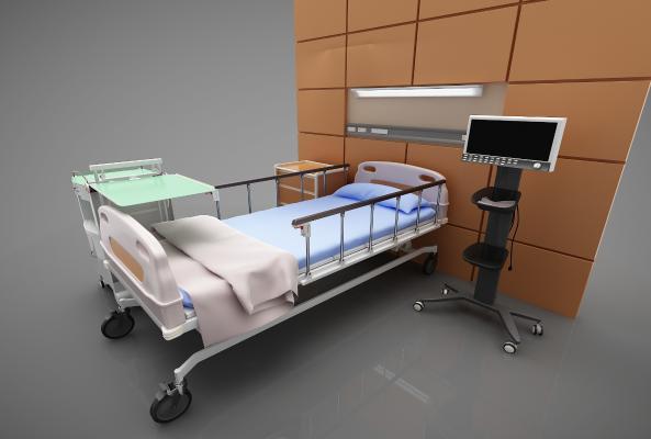现代风格床具