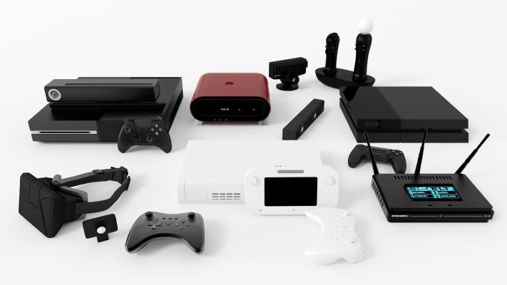 现代游戏机 游戏盒