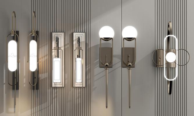 新中式輕奢壁燈