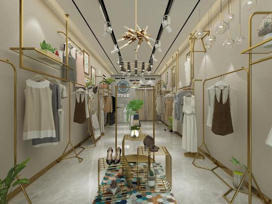 现代女装店