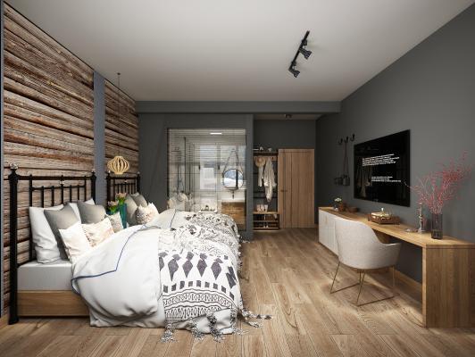 北欧名宿客房