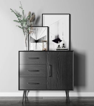现代边柜 装饰柜