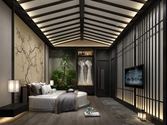 新中式足疗 spa 保健房
