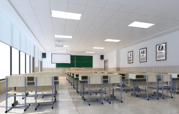 皖西学院70人教室大图 拷贝