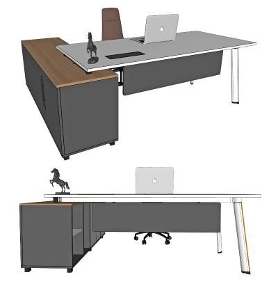 现代办公桌椅 班台 办公桌