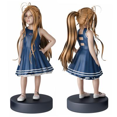 现代小女孩 人物 雕塑