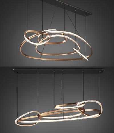 現代金屬吊燈