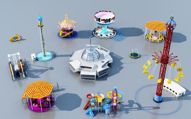 现代游乐场