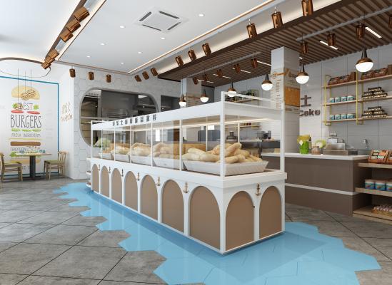 现代奇乐士面包店