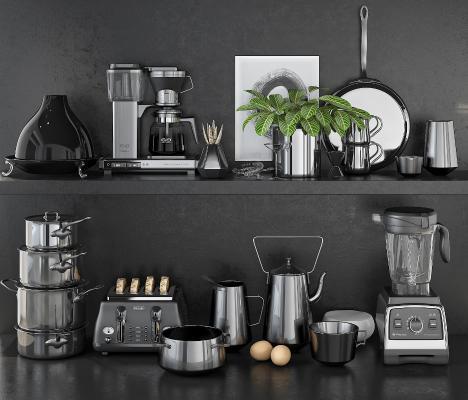 现代咖啡机 搅拌机