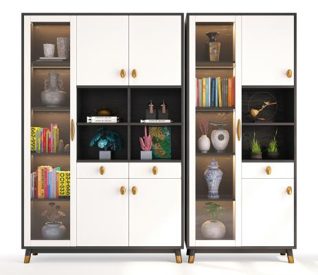 现代风格装饰架,置物架,玄关架,展架,装饰柜,边柜