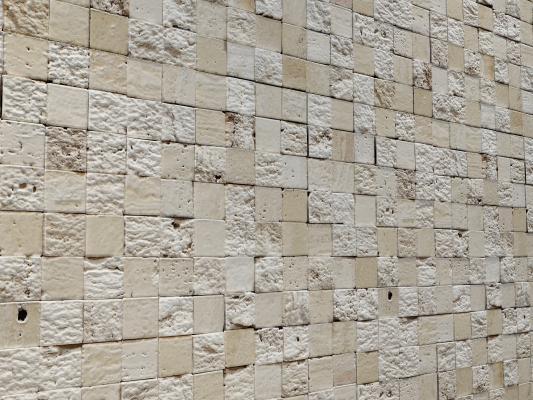 现代蘑菇石 3D墙面 岩石