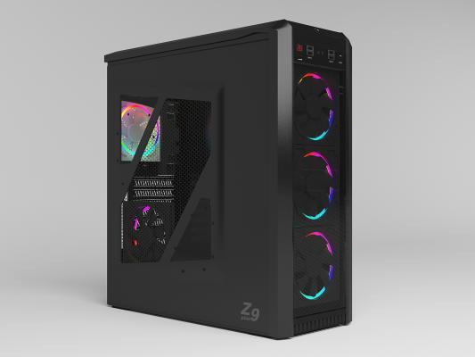 现代电脑主机 炫光 良机