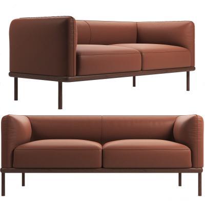 丹麦NOIR现代双人沙发