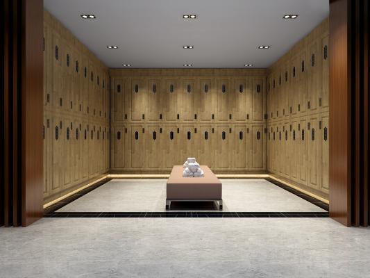 东南亚洗浴中心 更衣室