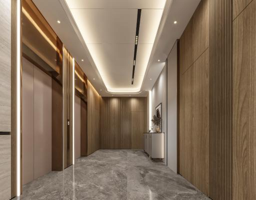 现代电梯厅
