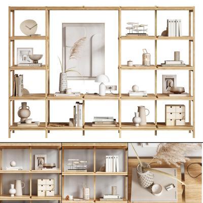 現代飾品擺件組合 裝飾架