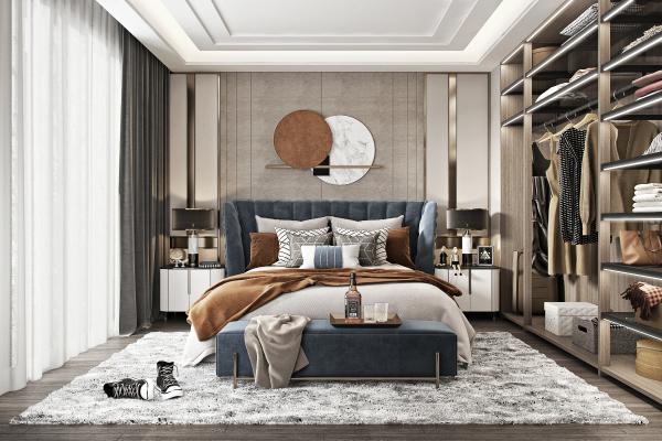 现代轻奢卧室 主人房