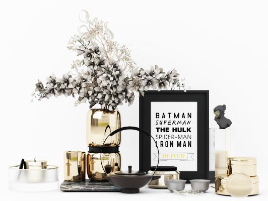 现代装饰品 摆件 花瓶
