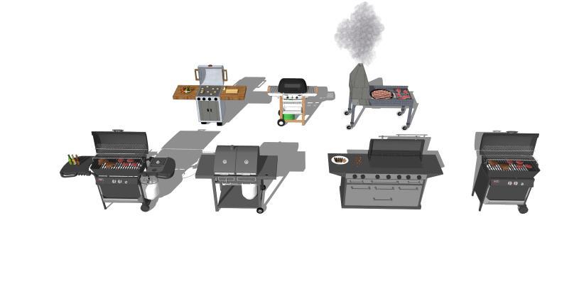 烧烤台 BBQ 烧烤 庭院烧烤 烧烤架 架子 厨房器材