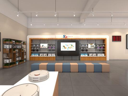 現代電信營業廳 手機 家具