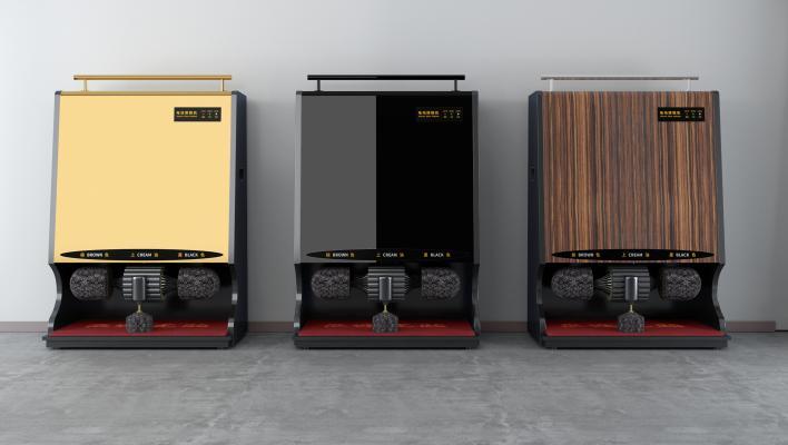 現代自動擦鞋機