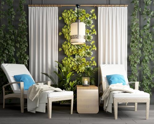 現代風格躺椅 休閑躺椅 木質躺椅