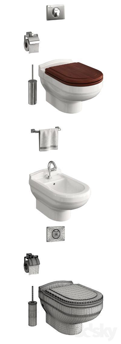现代风格浴缸 马桶