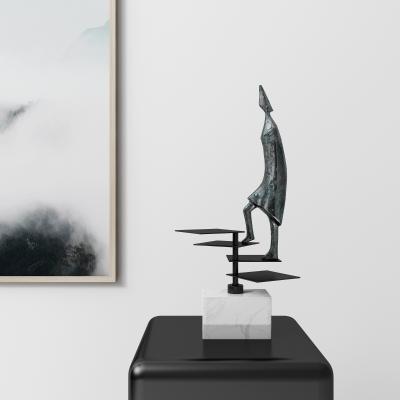 现代金属雕塑