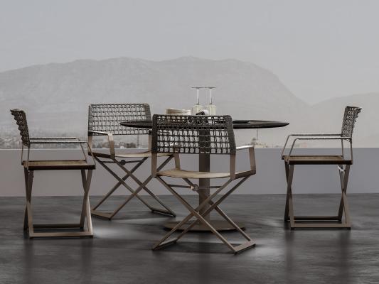 工業風現代戶外休閑桌椅