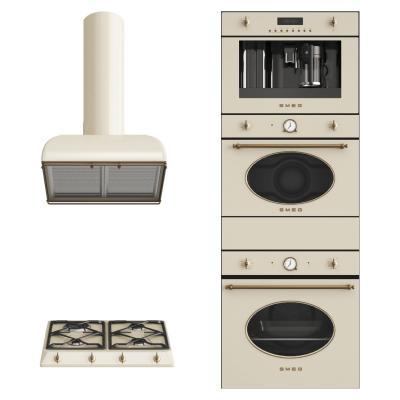 现代厨房电器 油烟机 烤箱