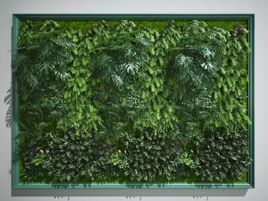 現代綠植墻 景觀墻